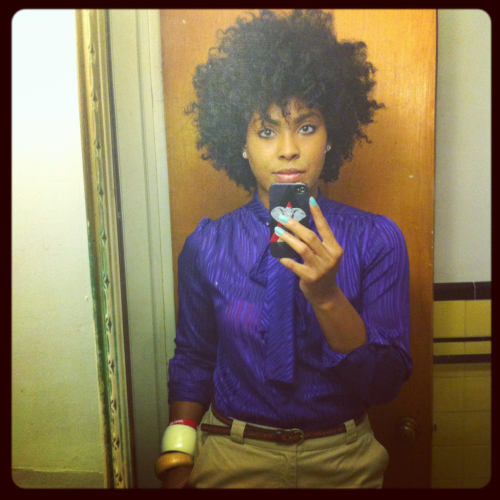 ilovemaicurls:  Day 6 wet twist out hair.