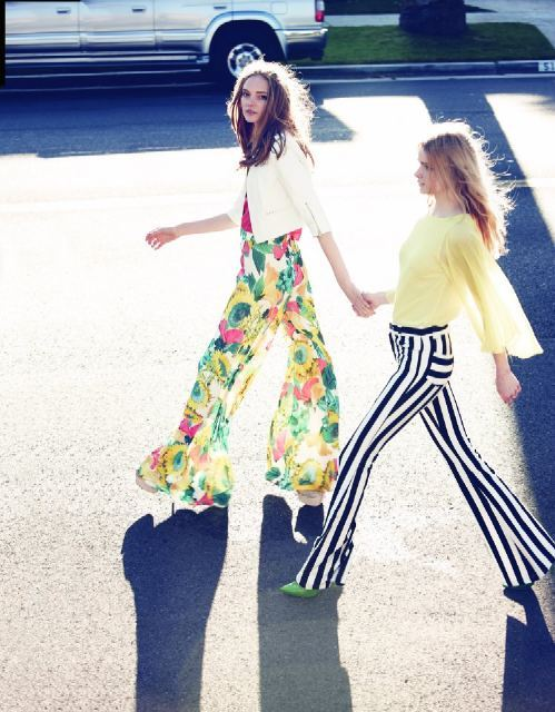 aliceandolivia:  GET INTO OUR PANTS! (Photo via: Neiman Marcus)  your wish is my command…