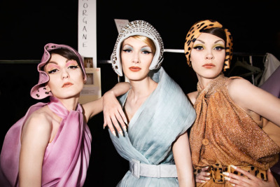 stylesight:  Backstage at Dior Couture by Roxanne Lowitt
