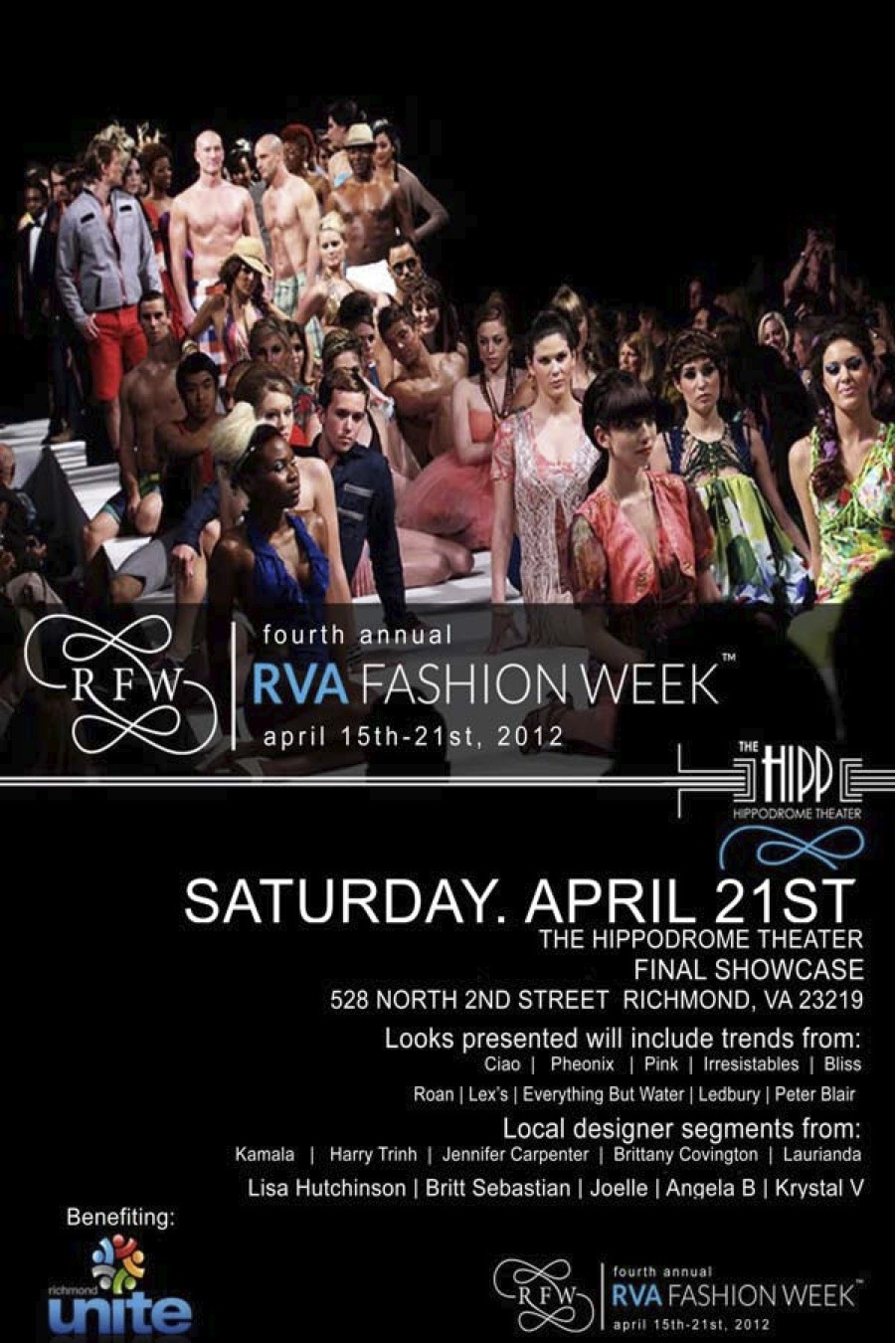 Another HUGE event part of RVA Fashion Week!