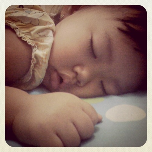 sleepy.. (Taken with instagram)