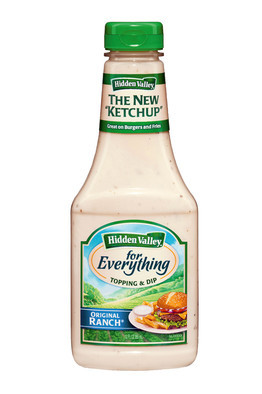 "Ranch proclaims it's ""the new 'ketchup'"" and apparently it isn't a joke. Americans looking to add as many calories to food as possible rejoice."