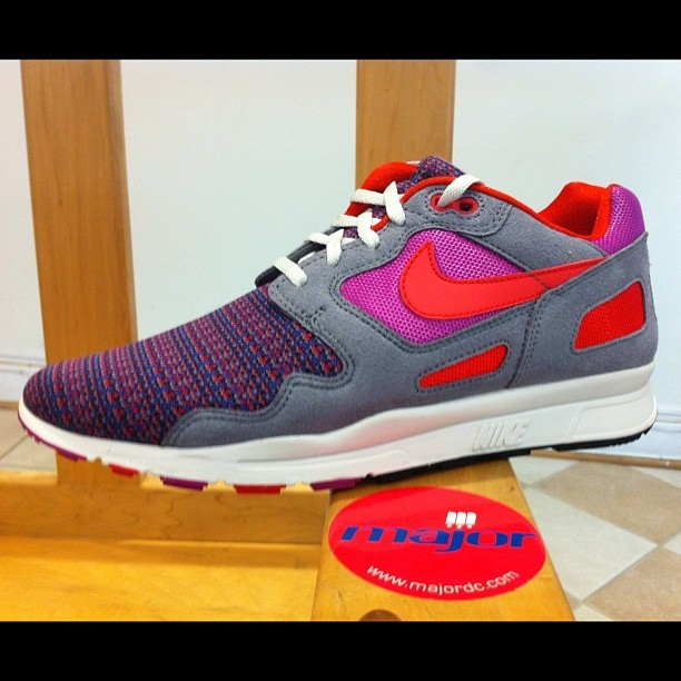 Now at MAJOR! Nike Air Flow Magenta/Action Red $130 (Taken with Instagram at Major)