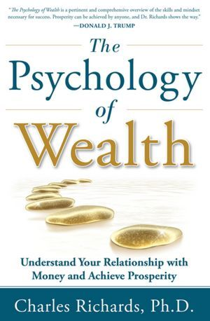 "moneyisnotimportant:  Book Review: The Psychology of Wealth by Dr. Charles Richards Dr. Charles Richards seeks to answer the question: What is our personal yardstick for wealth, and how did we come by it? He does this by exploring several areas of psychology associated with money, such as how your self-esteem influences your wealth. Dr. Richards' style of writing is professional without being too dry.  It feels as if you're getting several therapy sessions without having to spend time sharing your history with money and the baggage that comes with it. As you begin exploring how your mindset impacts your view of money, be sure to add this one to your ""to-read"" list!"