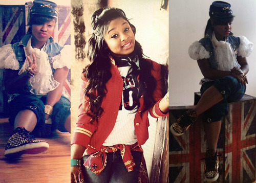 rozoonthego:  The little Princess REGINAE CARTER does an adorable photoshoot! Follow @LilTuneChi @ToyaWright @Reginae_Carter1  can someone please tell me what kind of hat this is. please !!
