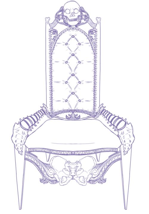 DONE WIF THE ROUGH. THIS IS A PRETTY BADASS CHAIR.