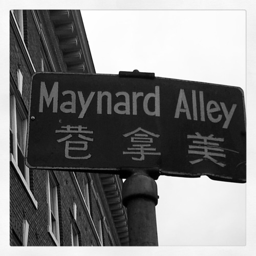 Photography Of Dres Mera-Maynard Alley in Chinatown-ID(Taken with Instagram)