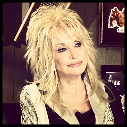 We sat down with Dolly Parton to talk about her new album and Whitney Houston. Watch here.  |  (taken with instagram)