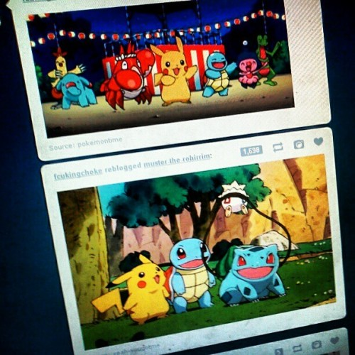 Pokemon are so amazing! (Taken with instagram)