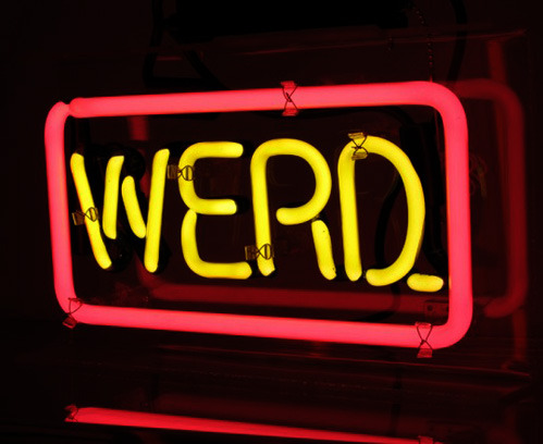 "During The Standerd days, Joey and I used ""werd"" a lot, and still do. (from nevver: Werd)"