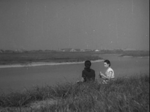 infinitetext:  Yasujiro Ozu, A Hen in the Wind, 1948.