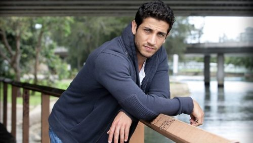 This is Firass Dirani. I really need him to be in everything. Get on that, Hollywood.