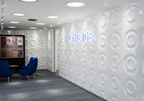 A nice try on ripple tile for LANEIGE