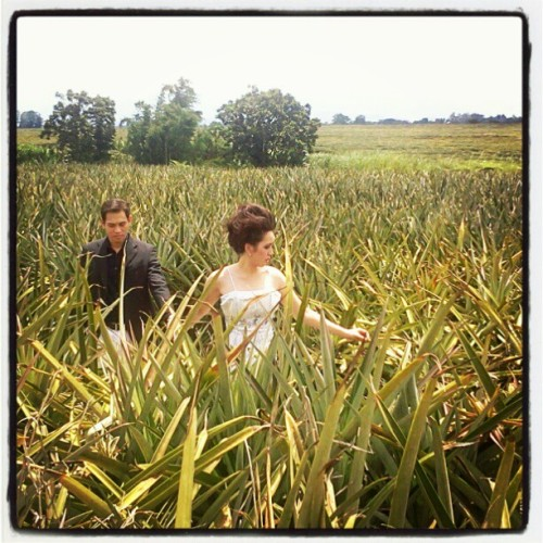 Testing. Prenup of Eubel and Camille (Taken with instagram)