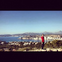 Miss these days #spain #mallorca #sunny #sky #island #bay #mountains #españa #spring #red #town #instagood #igdaily #igaddict #instamood #webstagram #water #sea #mediterranean #jj_forum #all_shots  (Taken with instagram)