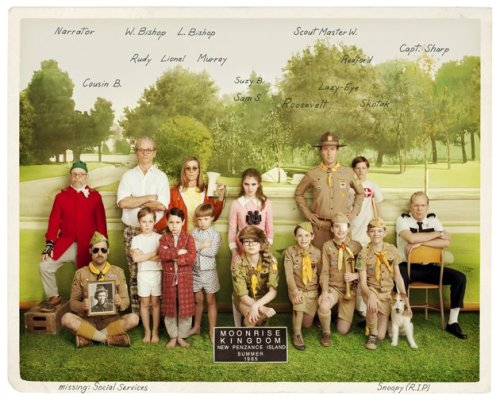 "flavorpill:  We can't wait for Wes Anderson's ""Moonrise Kingdom"""