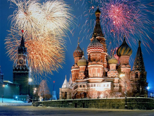 girnehaber:  Colorful Moscow Russia