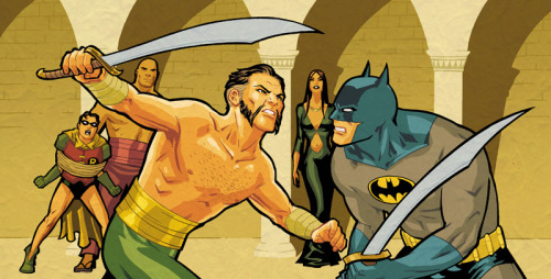 comicartappreciation:  Batman vs. Ra's al Ghul // Cliff Chiang