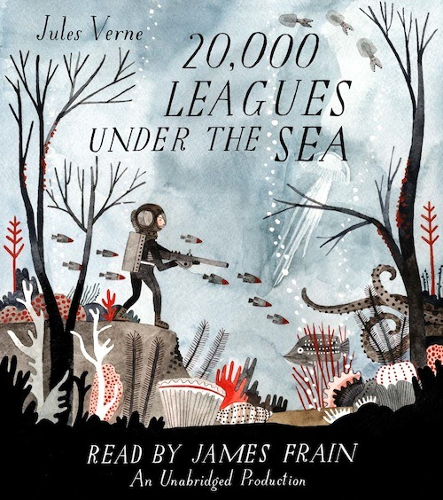 beatonna:  Beautiful book covers: Carson Ellis' 20 000 Leagues Under the Sea