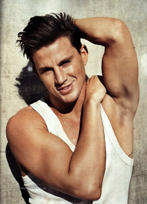 The things I'd do to Mr.tatum;)
