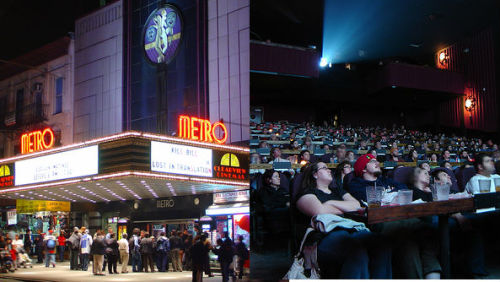 The Alamo Drafthouse is coming to NYC! Headed to the Upper West Side, taking over the former Metro Theater at 2626 Broadway. If you live in the New York, this is the best news of the day (I live in New York - it's the best news of the day).