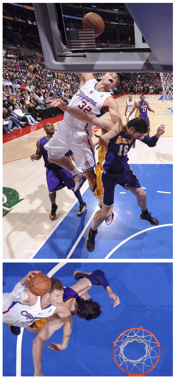Pau Gasol might want to file for a restraining order against Blake Griffin @Suga_Shane