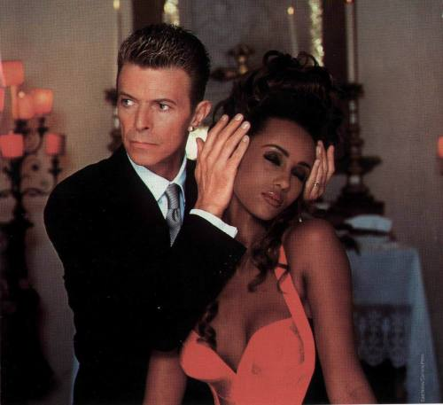 Love David Bowie & Iman.