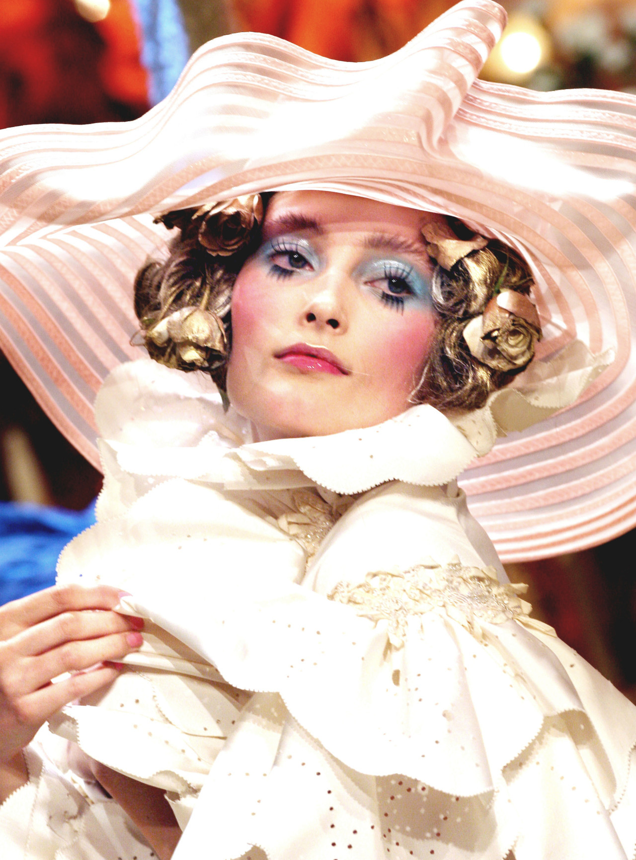 Iekeliene Stange at John Galliano Spring 2008