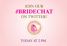 "We had some great #Bridechat fun today and in case you missed out here's a recap! 1)Photographer: When choosing a photographer make sure you review their portfolio and that they communicate with you. If the photographer understands you…it's a win-win! 2)Entertainment: Whether you choose a DJ or an actual band make sure your wedding entertainer is both energetic and engaging but NOT the center of attention. Their goal is to get your guests dancing! 3)Food: Wedding cakes are the traditional dessert and one of the statements of your special day, however new trends are taking form. Cupcakes, dessert tables and cultural specific desserts are becoming the new theme for the Wedding Day Sweet Tooth. 4)Planning: Digital platforms like Pinterest and now, My Collection from Colin Cowie Weddings are growing quickly to bring you the easiest ways to gather inspiration and resources for all of your planning.  5)Fashion: Colored wedding dresses are becoming more popular! With Elie Saab's Spring Collection of delicious pastels to Vera Wangs ""Witchcraft"" Fall 2012 bridal line…we will surely be seeing brides go the non-traditional route. And for those that are traditional-try a colored lining in your dress…it will be your little secret.  6)Favors: More couples are reverting back to the days of DIY favors. From homemade liqueurs to baked goods, these favors are personal and special. Other ideas? Philanthropy. Couples choose to donate on behalf of each guest to a charity they feel is important. Giving is good! We hope this inspires you! Tune in every Thursday at 2pm for #Bridechat for all wedding conversation with some Wedding Pros! xoxo @TheAisleNY"