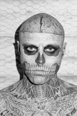 terrysdiary:  Zombie Boy at my studio #8