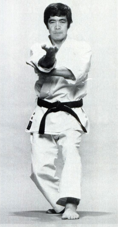 Shotokan Master Hirokazu Kanazawa, founder of the Shotokan Karate-Do International Federation (SKIF) Black Belt Magazine May 1987