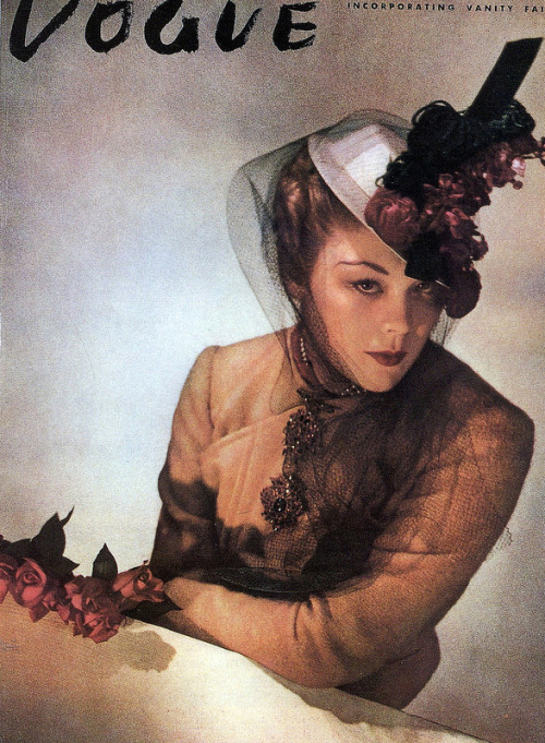 Vogue cover by Horst, 1938