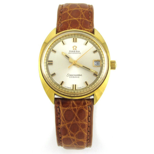Vintage Omega Sale! Prices reduced on all our Vintage Omega Wristwatches: 1940's Omega with Stainless Strap $399 Omega Seamaster Cosmic now only $499 (shown here) 1970's Seamaster Automatic with band $599