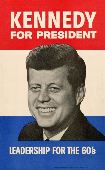 lbjlibrary:   January 2, 1960. JFK announces his candidacy for the Democratic presidential nomination, joining Hubert Humphrey as the only announced candidates.