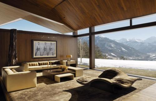 The Wildcat Ridge Residence by Voorsanger Architects in Aspen, Colorado