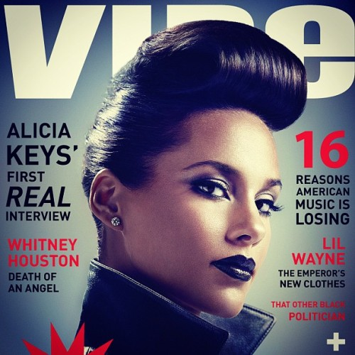 O_o my goodness this is BEAUTY thekeysofalicia:  You get the first look! I'm in love with this @vibemagazine !!!! (Taken with instagram)