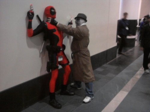 Deadpool and Rorschach