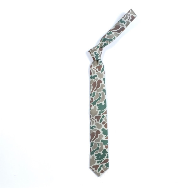 brasstacksrva:  Silk Camo Tie by Sophnet available at Union