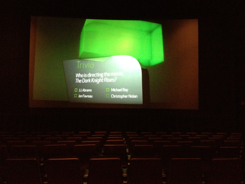 Decided to go to the movies by myself this afternoon to see The Hunger Games. Not only did I come by myself, but there is not a single person in my entire theater. I've never felt more lame in my entire life.