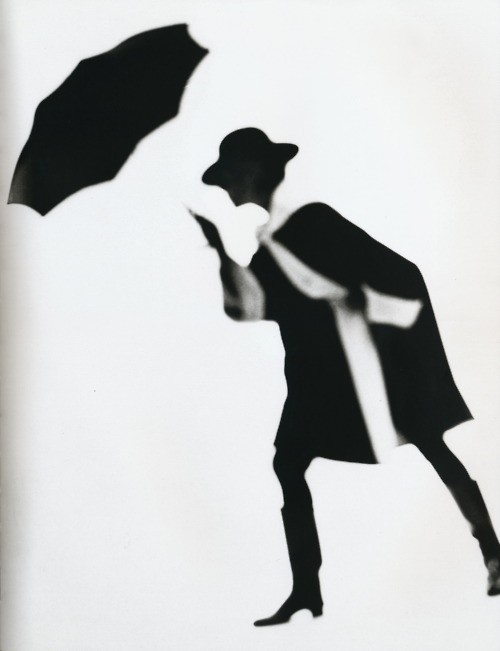 Black and White Coat By Lillian Bassman, 1950