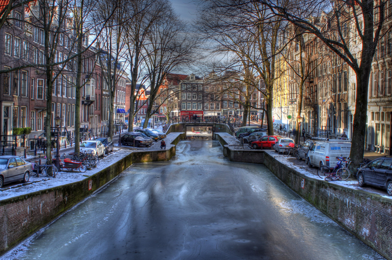 amsterdam, netherlands in hdr
