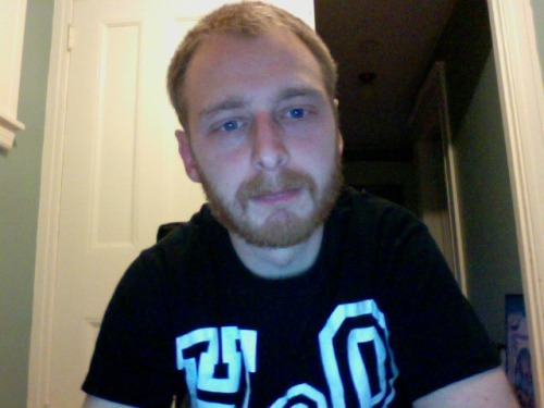 slowdancexvx:  Spring time means chopping a good inch off the beard.  You are one good-looking…everything =]
