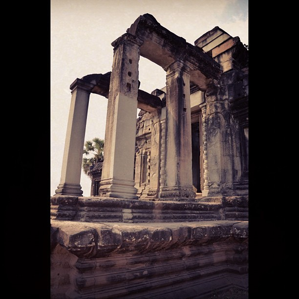 Library (#angkorwat, #cambodia) (Taken with instagram)