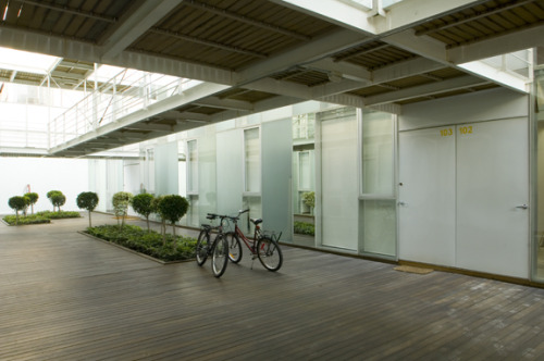 zacatecas apartment, building located in mexico city. 2006 credits co-design with bernardo gomez-pimienta           www.bgp.com.mx photography by rafael gamo           www.rafaelgamo.com