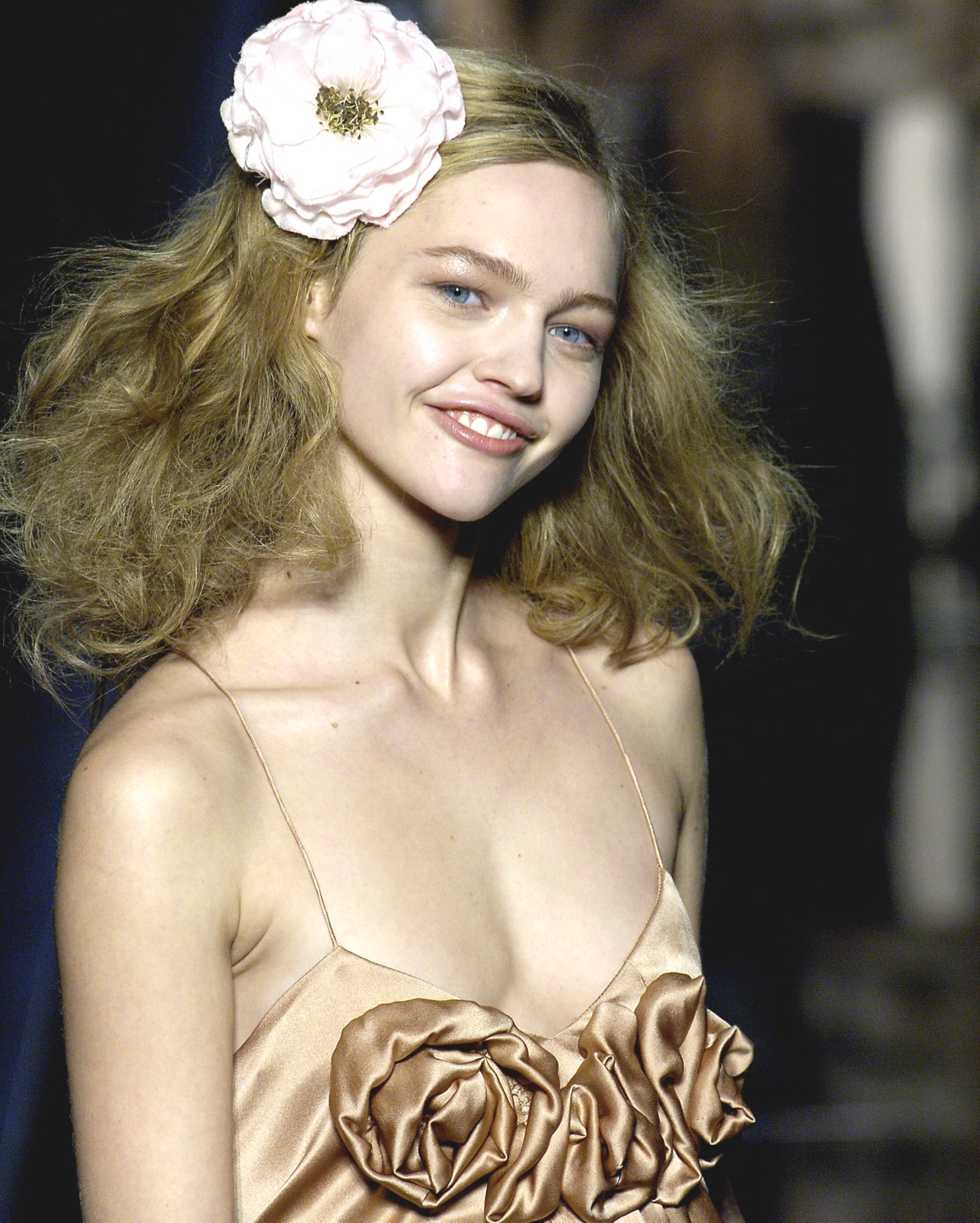 Sasha Pivovarova at Sonia Rykiel Fall 2006