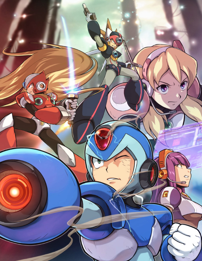 dotcore:  Megaman X.by Gary Yeung. via Udon Crew.  Damn you capcom! Why you didn't made a Megaman X9!?