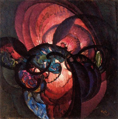 František Kupka, Twisted black lines