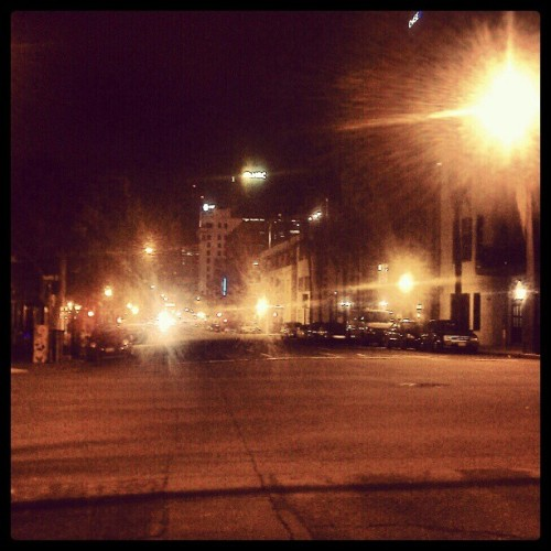 This city keeps calling me home. (Taken with instagram)