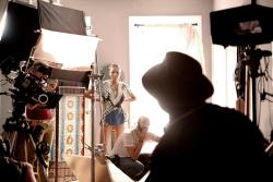 "RESTLESS CITY cinematographer Bradford Young and lead actress Sky Nicole Grey zero-in on director Andrew Dosunmu. Sky plays ""Trini,"" a young woman lost in a world of broken dreams until the love of her life enters the picture. AFFRM proudly releases RESTLESS CITY, beginning April 27 in NYC, LA and ATL."