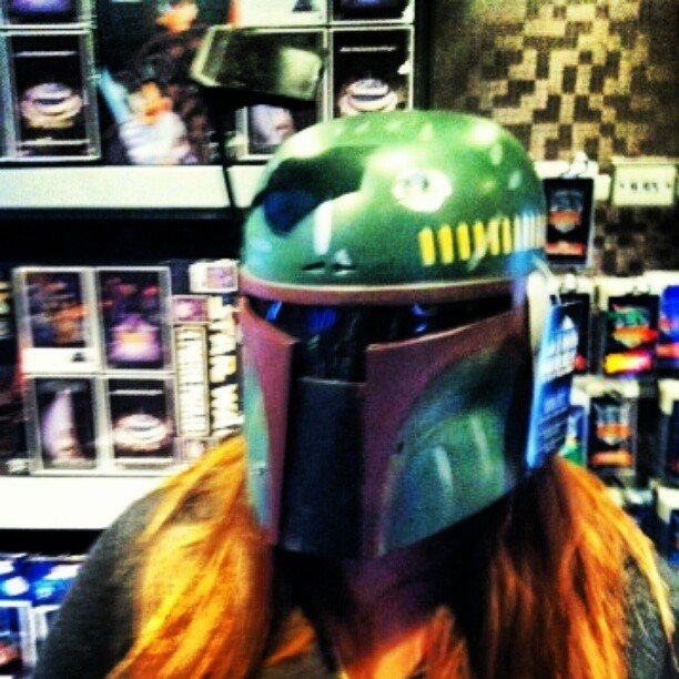 What the fett?  (Taken with instagram)